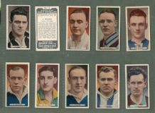 Tobacco cards set  Cigarette cards Famous Footballers 1934